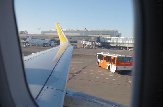 バニラエア 成田空港発~初日の出フライト2017に搭乗レポート