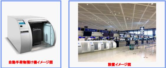 ANAの国内線でも導入されている自動手荷物預け機が成田空港国際線でも導入開始