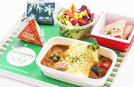 JAL(日本航空)国際線、中国・香港・台湾線エコノミークラス機内食をリニューアル